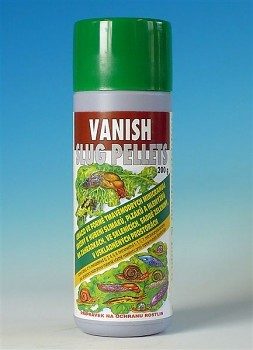 Vanish slug pellets