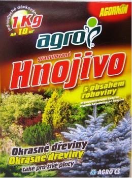 Agormin - Okrasné dřeviny