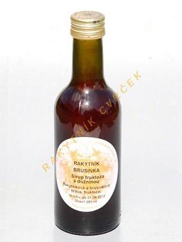 Rakytník + Brusinka nektar fruktóza 250ml