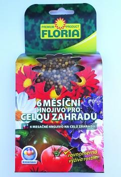 Floria - 6 měsíční hnojivo pro celou zahradu 200g (vhodné na citrusy)