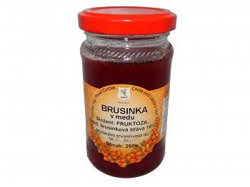 Brusinka v medu 250g